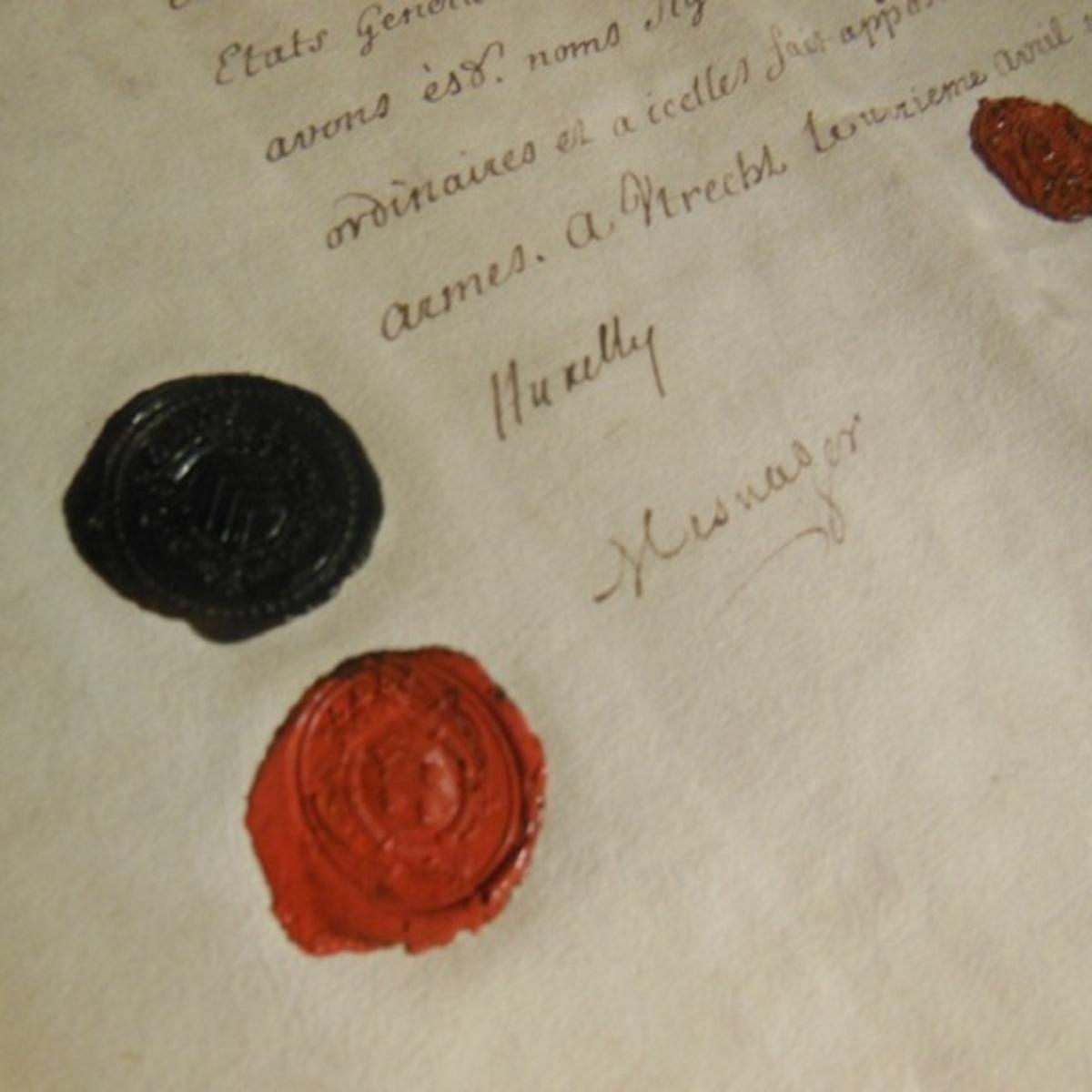 Les sceaux d'Utrecht, partie B : Pour réécrire l'histoire et le présent - Pierre Dairon