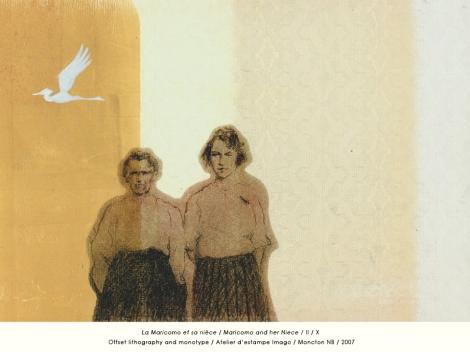 Régis Brun - La Maricomo de Maryse Arseneault