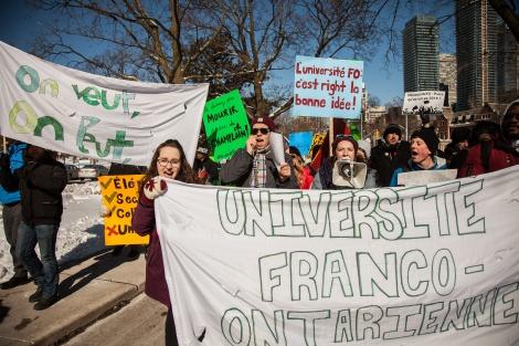Crédit photo : Regroupement étudiant franco-ontarien.