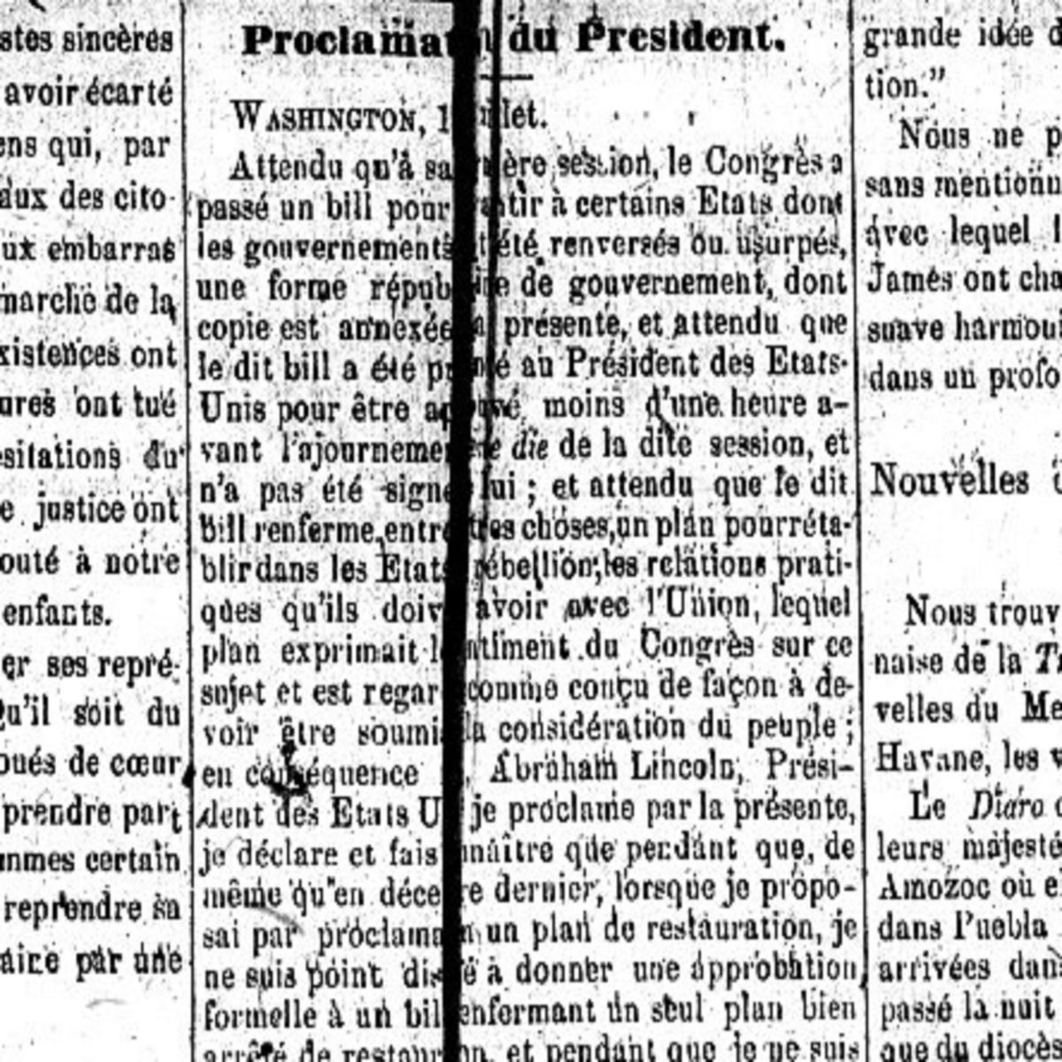 Témoignage d'un massacre annoncé : Il y a 150 ans à la Nouvelle-Orléans... - Clint Bruce