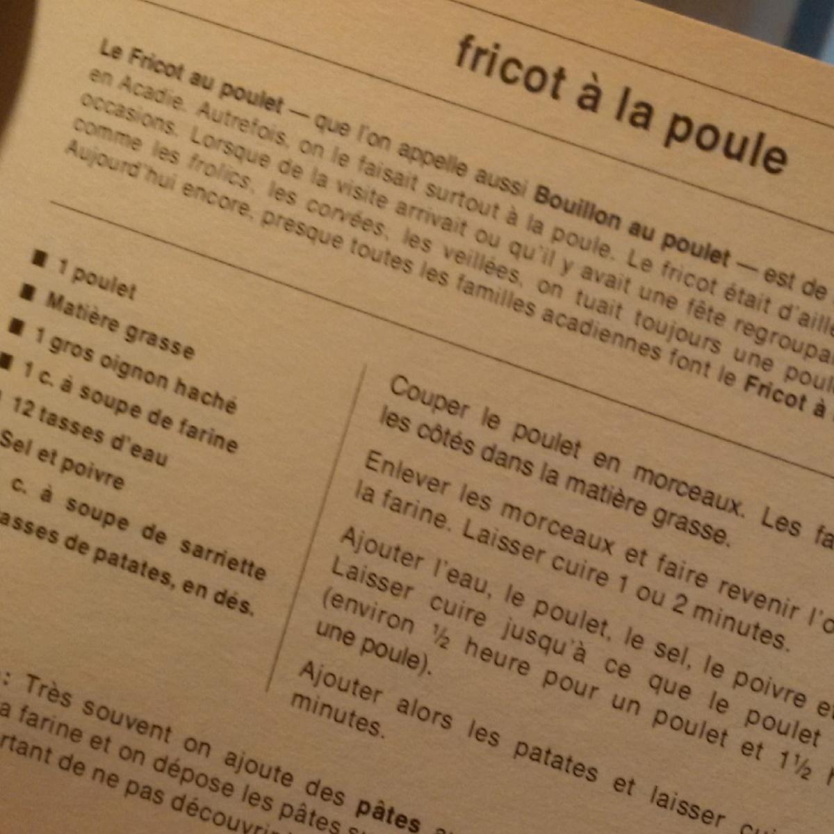 Comment réussir son fricot (sans choisir entre la recette et les ingrédients) : réponse à Éric Forgues - Sébastien Lord-Émard