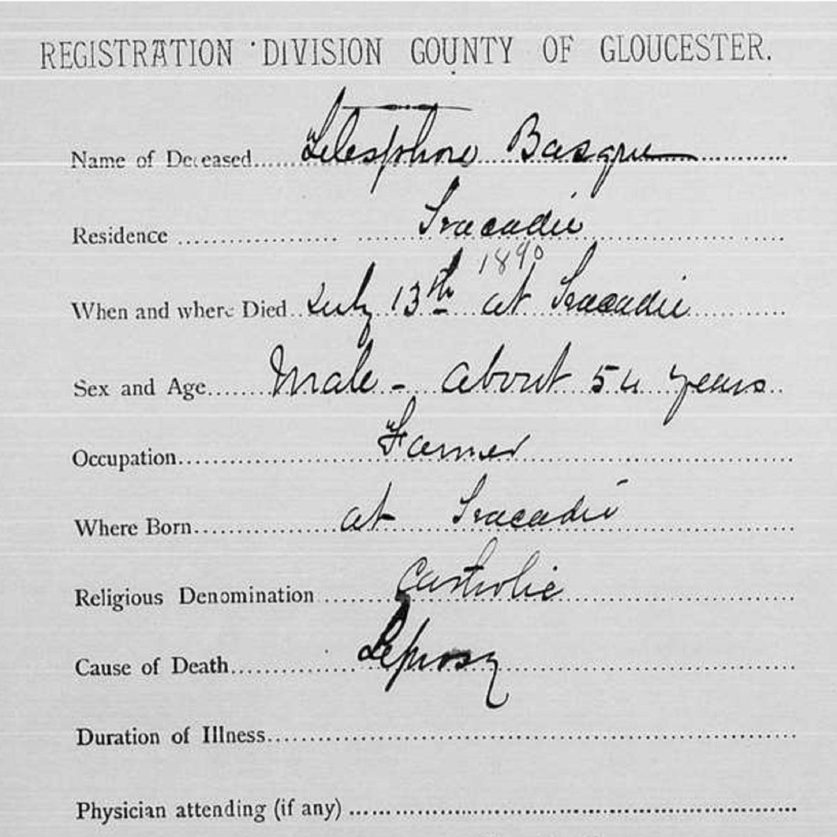 Mon arrière-arrière-grand-père était un lépreux! - Philippe Basque